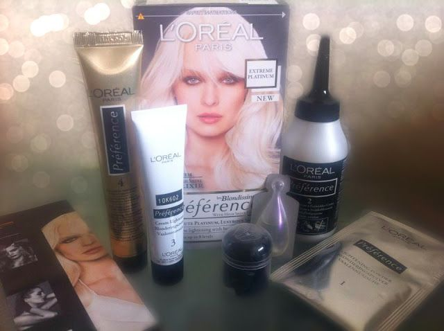 loreal preference extreme platinum instructions