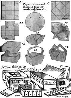 origami bunny basket instructions