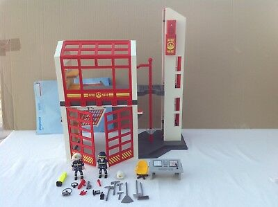 playmobil fire station instructions 5361