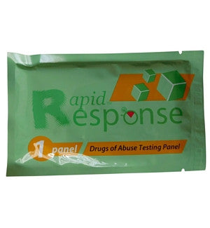 rapid response drug test instructions