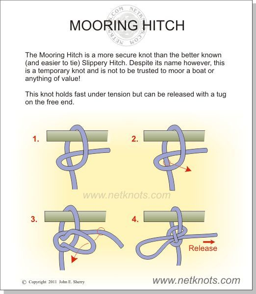 rolling hitch knot instructions