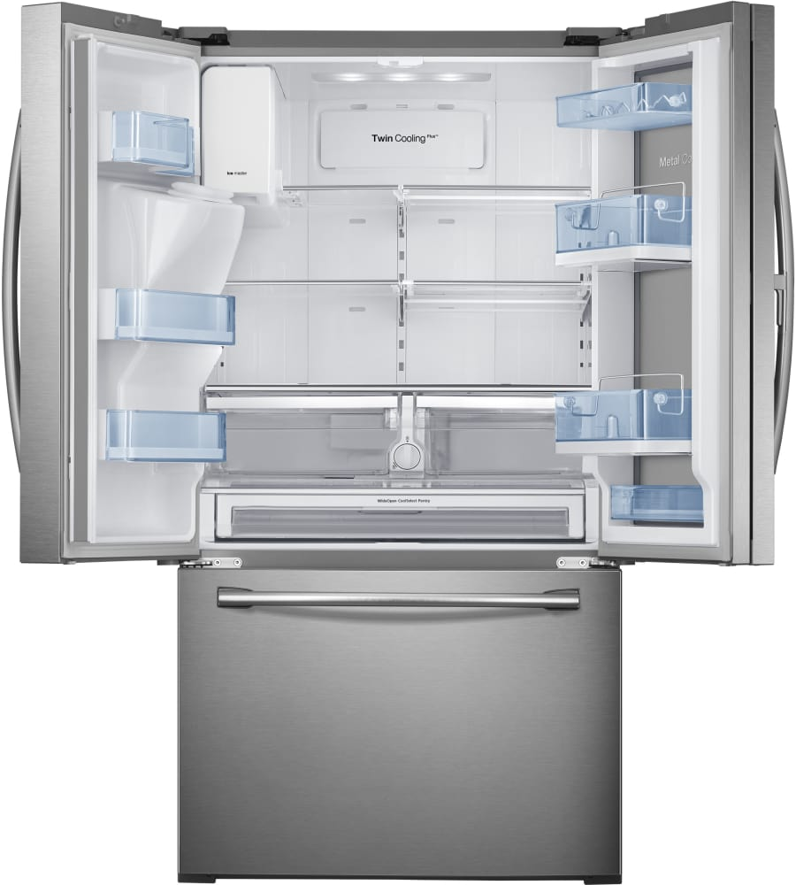 samsung fridge freezer ice maker instructions
