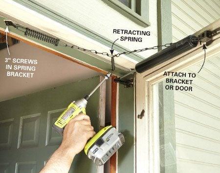 screen door installation instructions