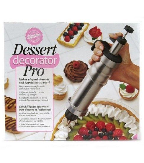wilton dessert decorator instructions